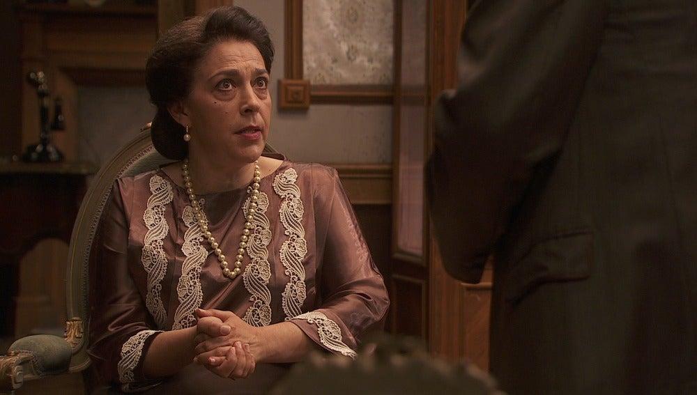 Bernarda no quiere saber nada del Cid