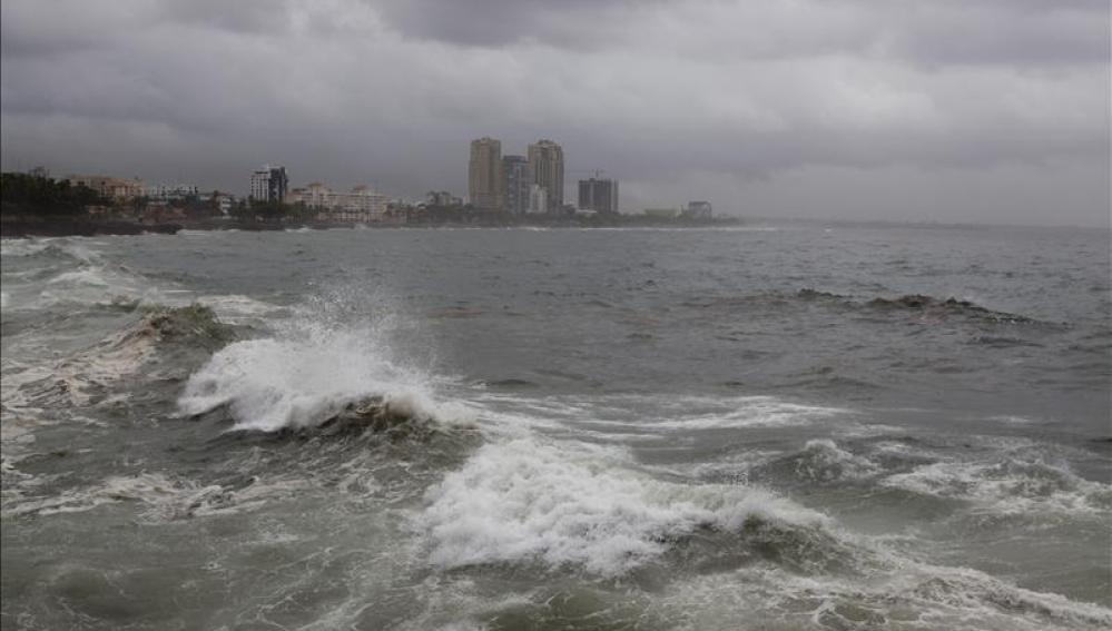 "La tormenta tropical ""Dolly"" toca tierra en el estado mexicano de Veracruz"