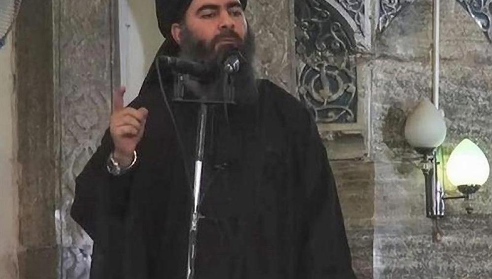 Abu Bakr al Baghdadi, líder de Estado Islámico
