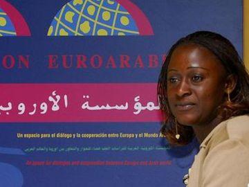 La periodista congoleña Caddy Adzuba