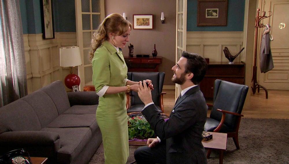 Diego pide matrimonio a valeria