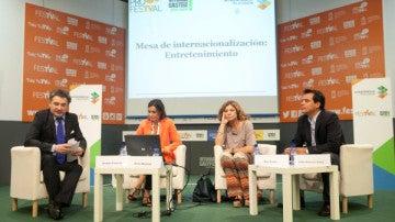 'Mesa de Internacionalización'del FesTVal de Vitoria