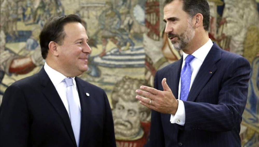 Varela y el Rey Felipe VI