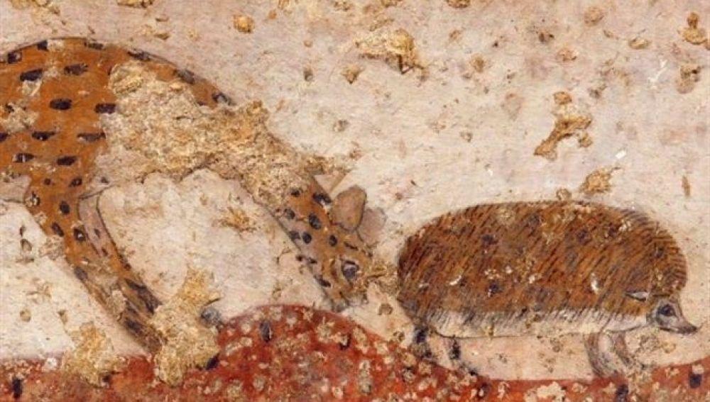 El arte egipcio revela una gran extinción de especies por sequías
