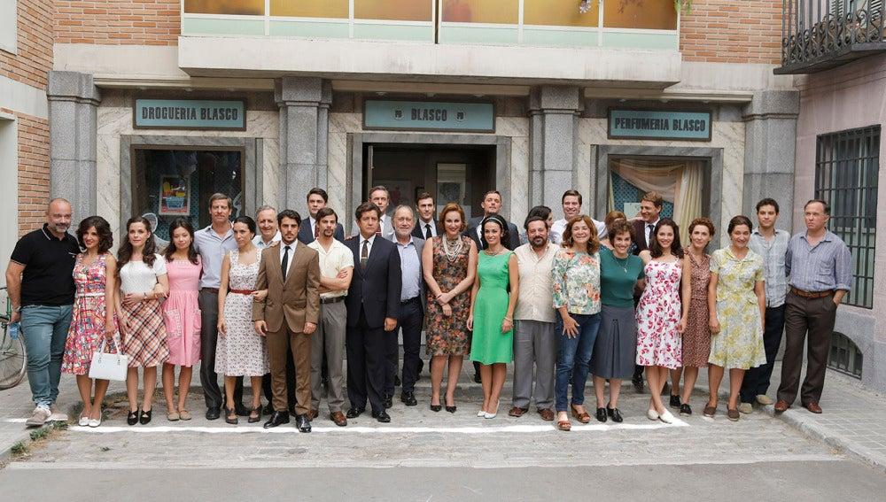 Foto de familia de la tercera temporada