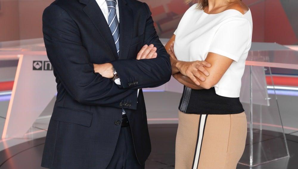 Vicente Vallés y Lourdes Maldonado