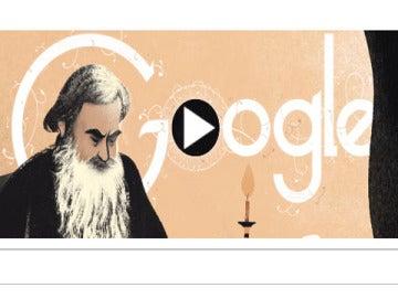 El Doodle de León Tolstói