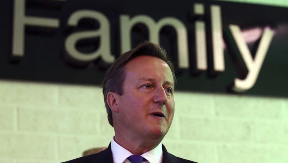 David Cameron, en su visita a Escocia