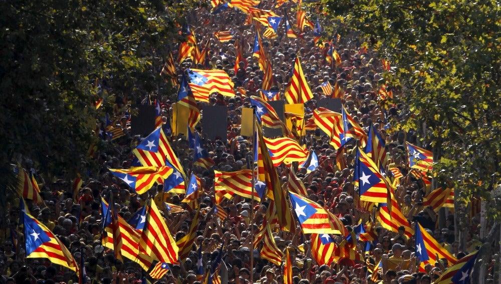 Actos de la Diada en Barcelona