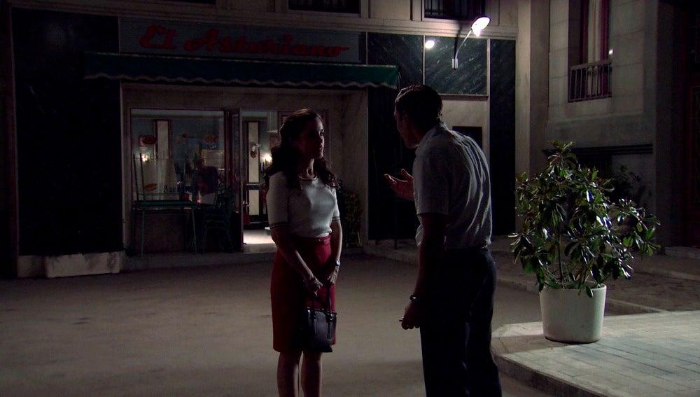 El encuentro de Clara y Juanillo