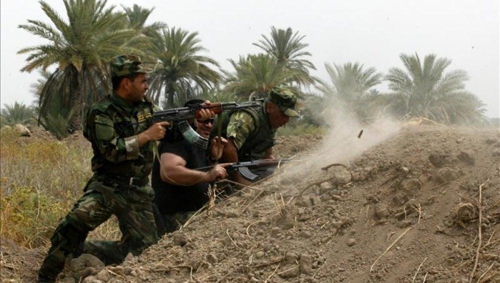 Pruebas militares contra la yihad.