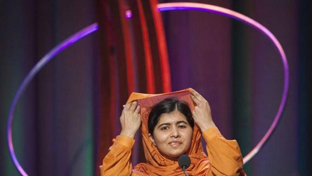 La activista Malala Yousufzai.