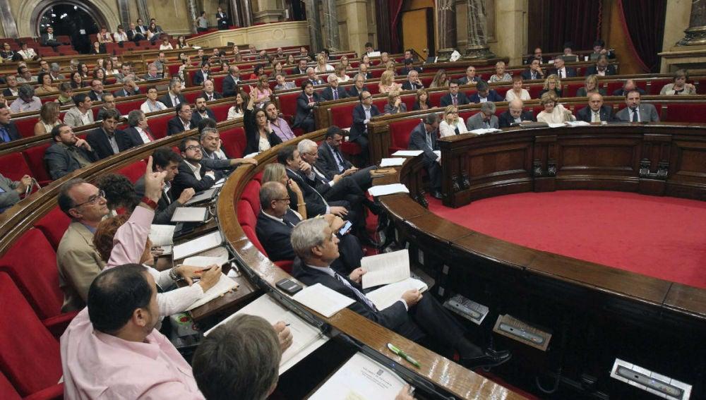 El Parlamento Catalán