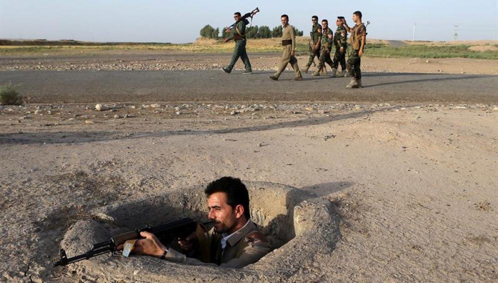 Combates en Irak