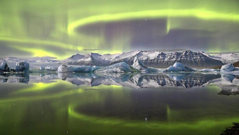 Aurora en Islandia, la imagen ganadora
