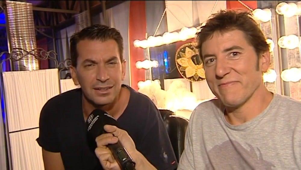 Arturo Valls y Manel Fuentes