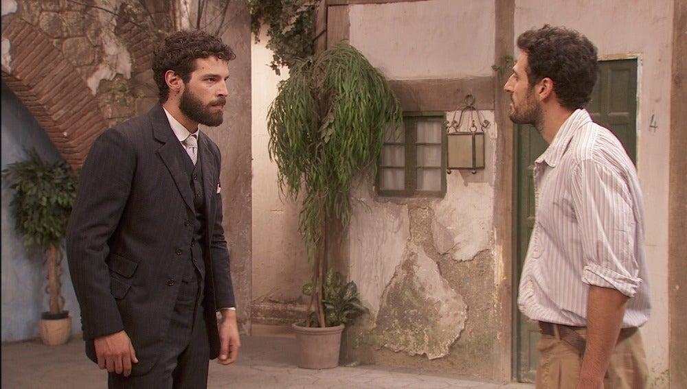 Bosco y Conrado llegan a las manos