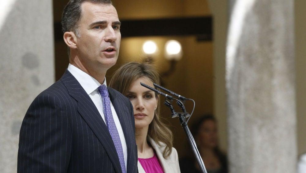 Los reyes de España abren la agenda de su primera visita a Nueva York