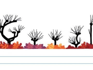 Google da la bienvenida al otoño