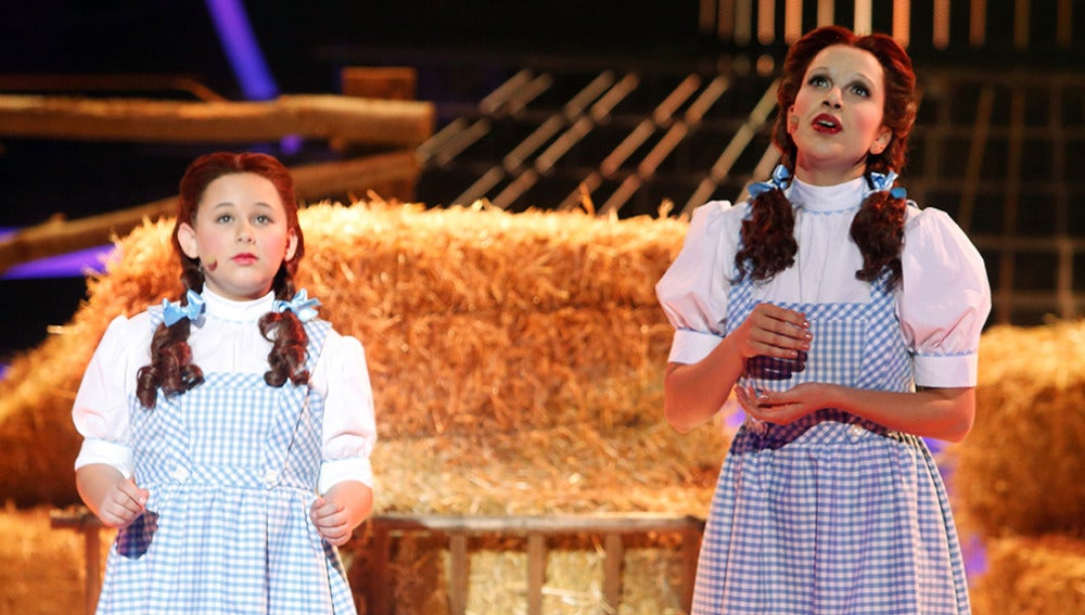 Roko y Carla imitan a Judy Garland en Tu cara me suena Mini