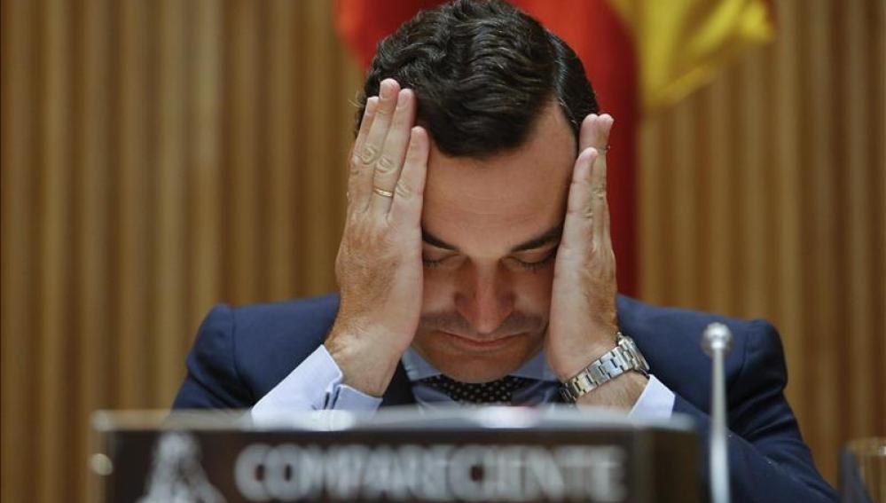 Leopoldo González Echenique comparece en el Congreso
