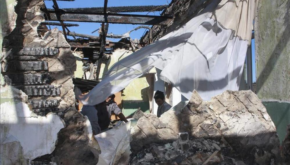 Los separatistas prorrusos informan del hallazgo de 40 cadáveres de civiles en fosas en Donetsk