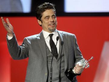 Benicio del Toro dedica el Premio Donostia a Puerto Rico, su país natal