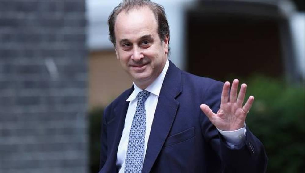 El ministro británico, Brooks Newmark, dimite