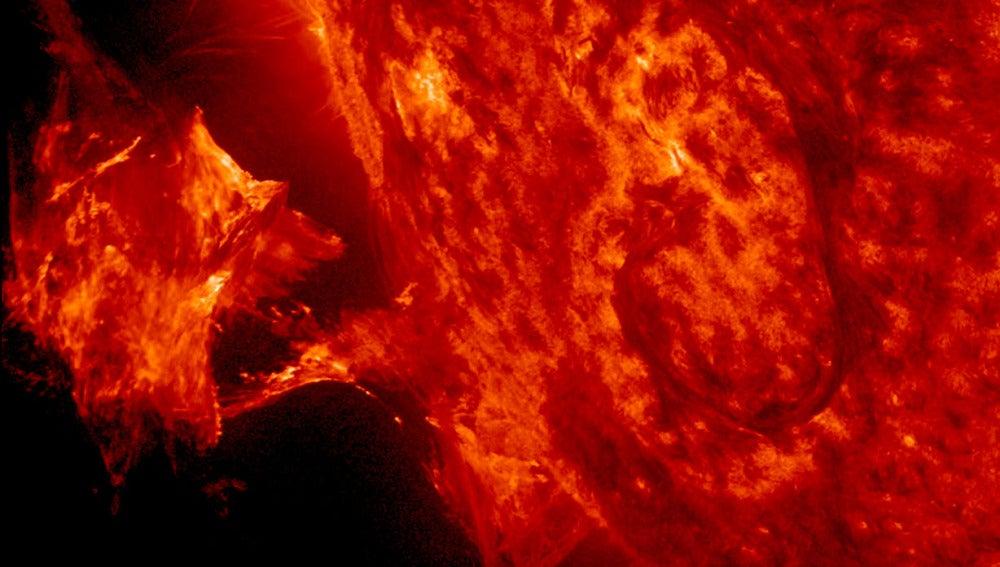 Erupción solar