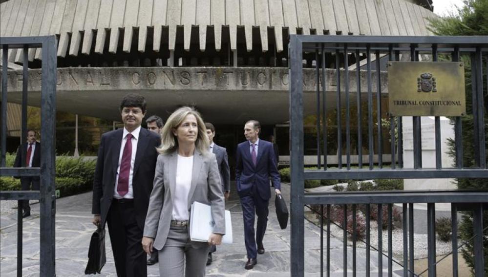 El Constitucional suspende por unanimidad la consulta soberanista catalana del 9N