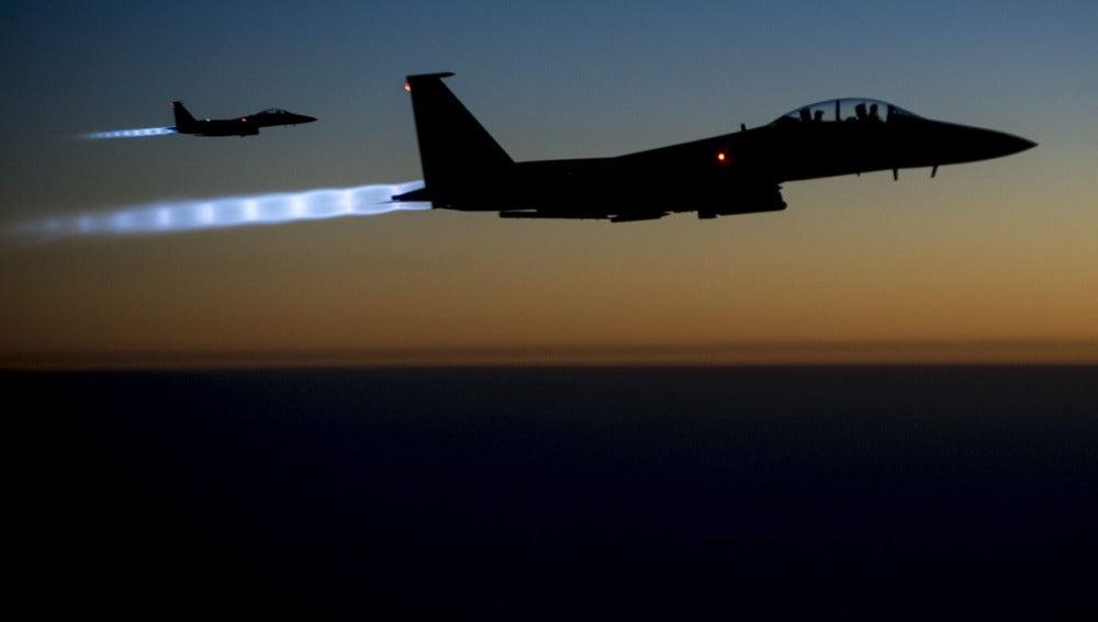 Bombardeos de EEUU sobre núcleos del IS