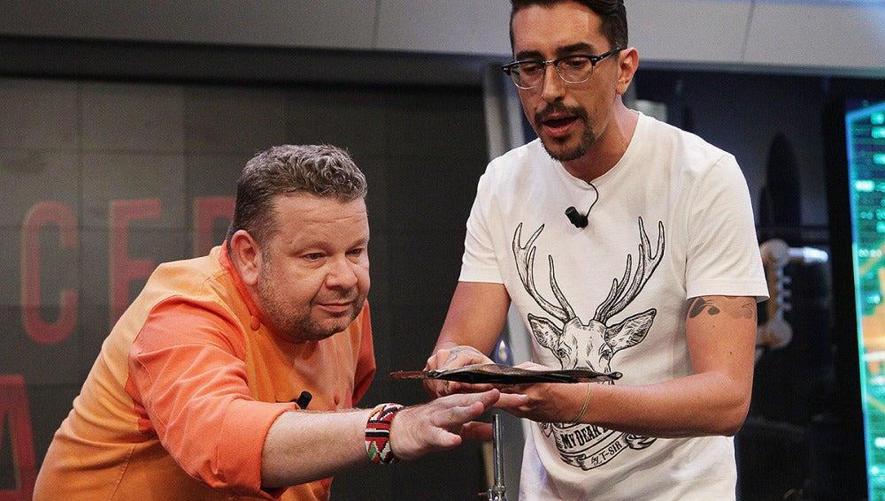 Alberto Chicote y Marron en El Hormiguero 3.0