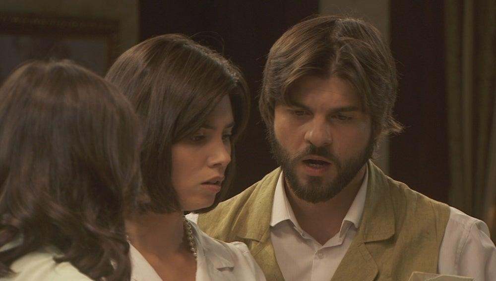 Aurora, María y Gonzalo