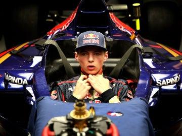 Verstappen debuta en la Fórmula 1