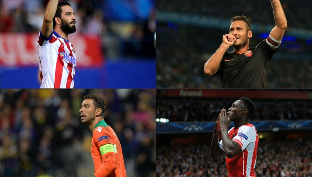 Los destacados de la jornada 2 de la Champions
