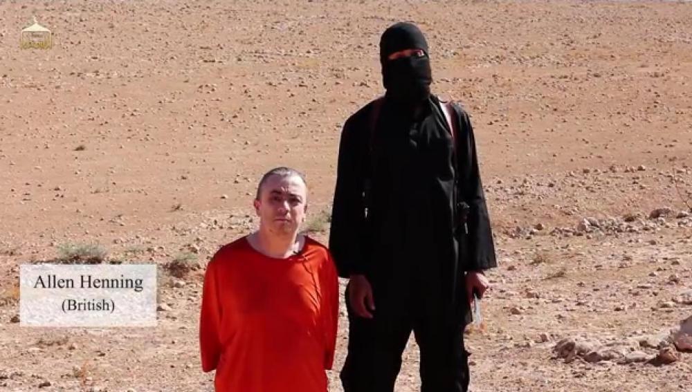 Vídeo con la ejecución del británico Allen Henning por Estado Islámico