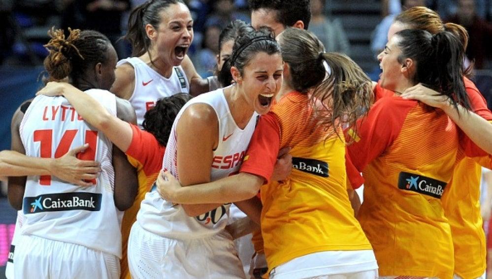 Selección Española baloncesto femenino