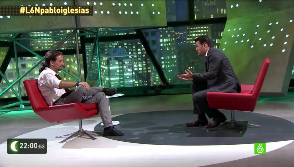 """Pablo Iglesias: """"Si tengo los apoyos suficientes, será un honor intentar ganar las elecciones generales"""""""