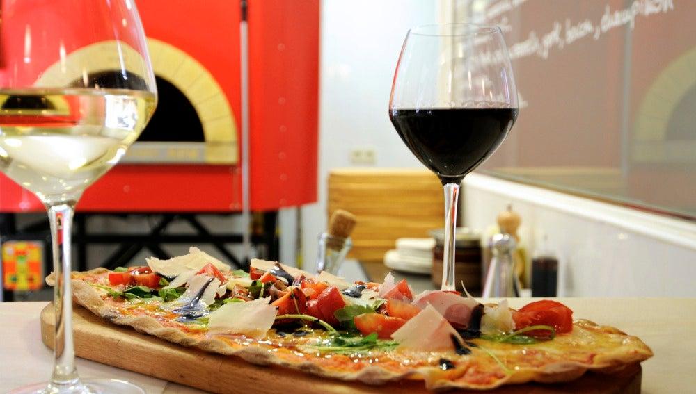 Las pizzas de Manzoni, cosa fina.