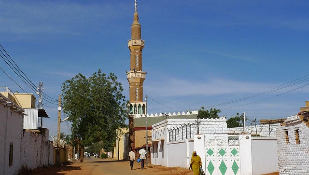 Ciudad de Omdurman en Sudán