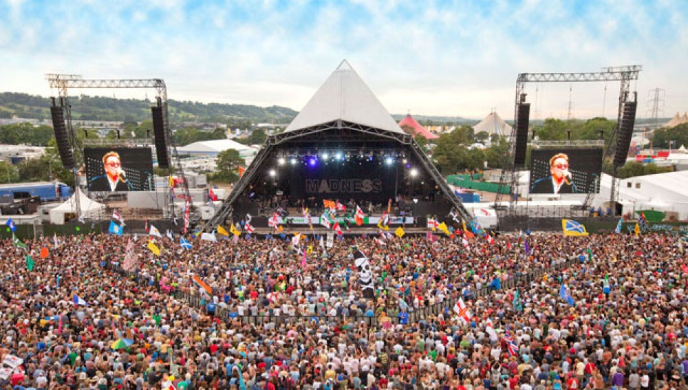 El Pyramid Stage de Glastonbury