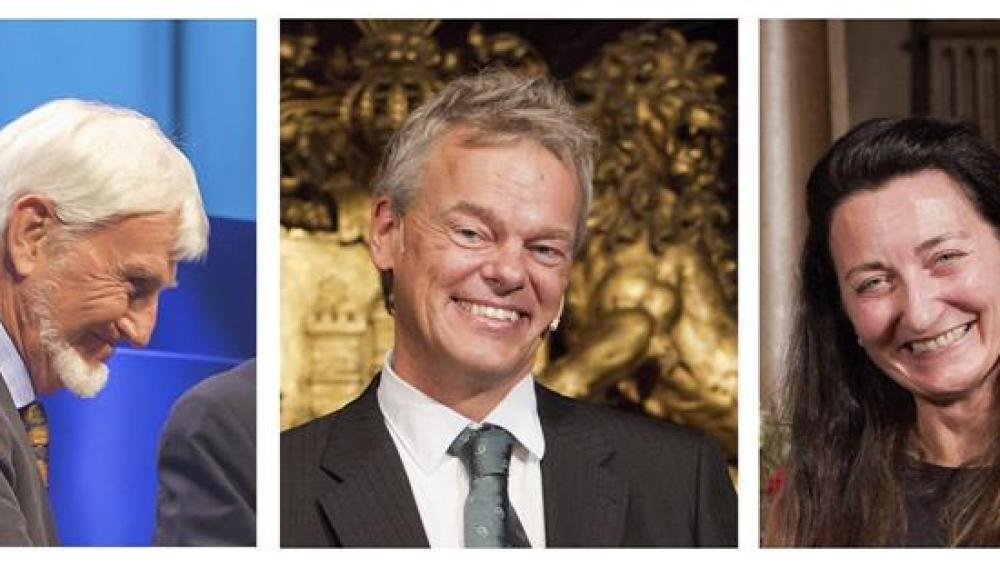 John O'Keefe y los noruegos May-Britt Moser y Edvard I