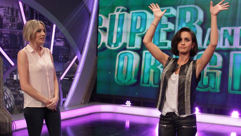 Anna Simon y Megan Montaner en El Hormiguero 3.0