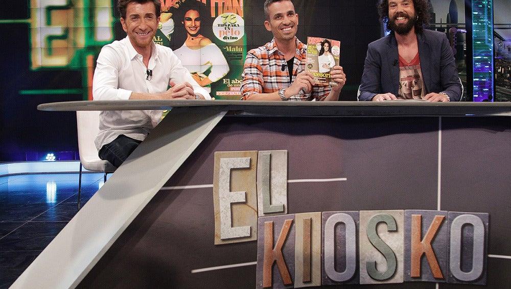 Pablo, Juan y Damián en El Kiosko de El Hormiguero 3.0