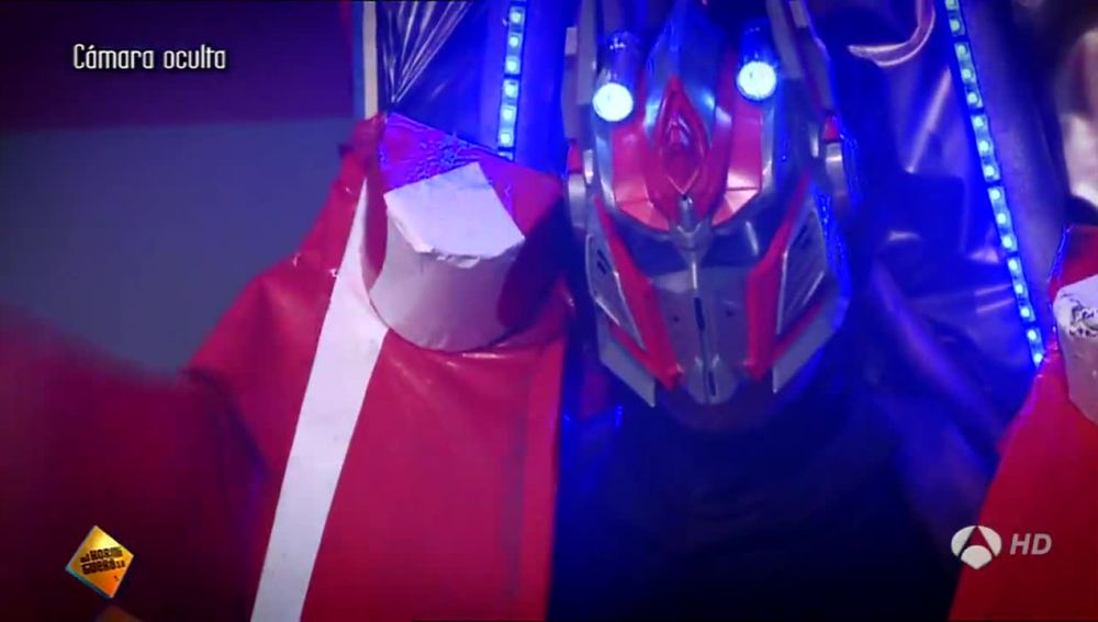 Transformers en El Hormiguero 3.0
