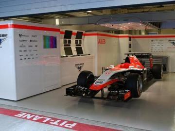 El monoplaza de Jules Bianchi
