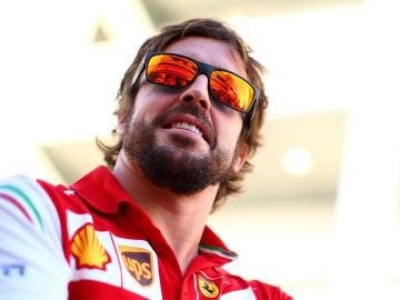 Fernando Alonso en Sochi