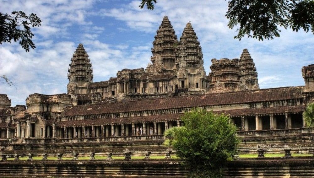 El templo de Angkor en Camboya.