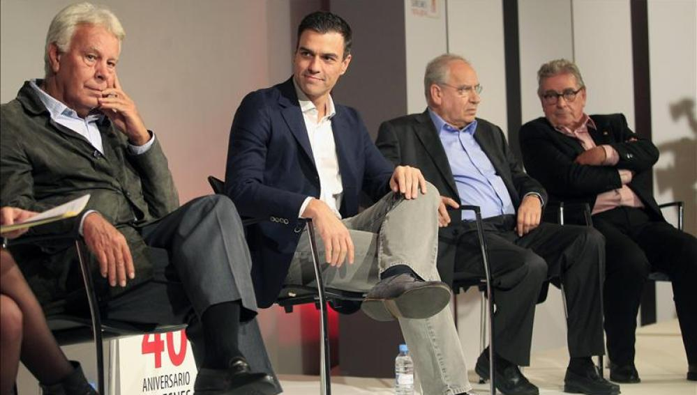 Felipe González, Pedro Sánchez y Guerra