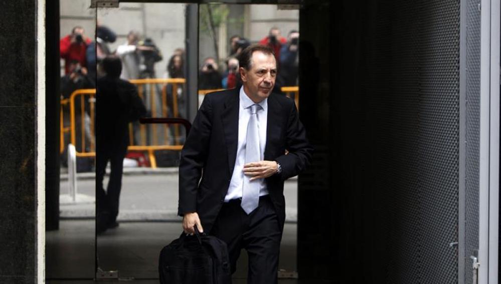 Sánchez Barcoj sale de la Audiencia Nacional